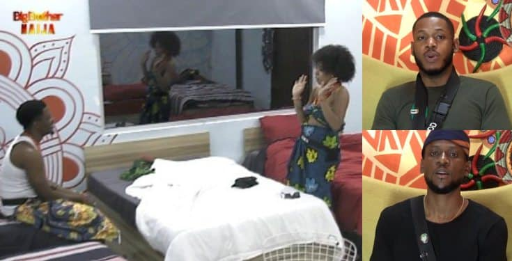 BBNaija 2019: Venita complains as Frodd & Omashola compete for her attention
