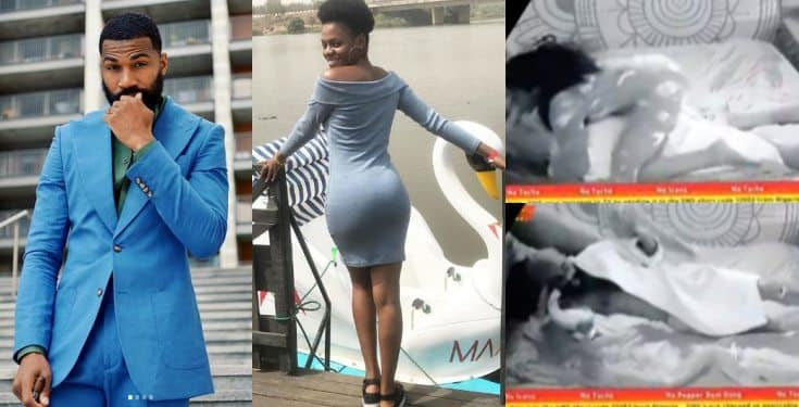 Image result for BBNAIJA 2019:SEE WHAT JACKYE DID TO MIKE IN BED (VIDEO)