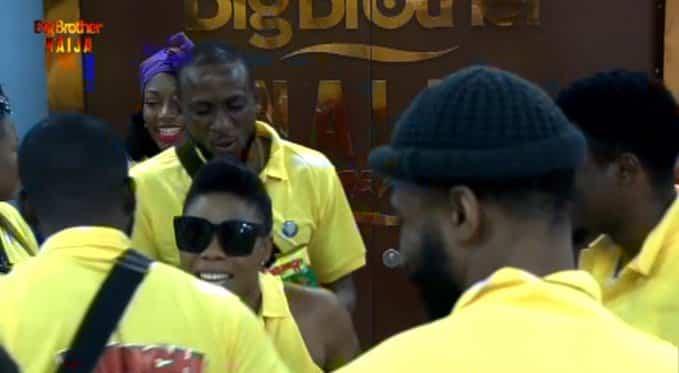 BBNaija: Biggie pairs housemates as Kaffy pays surprise visit (video)