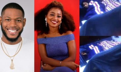 BBNaija: Esther and Frodd shocked as Khafi and Gedoni engaged in sex