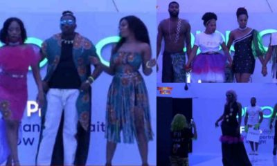 BBNaija: Excitement As Housemates Stage Epic Fashion Show (Video)