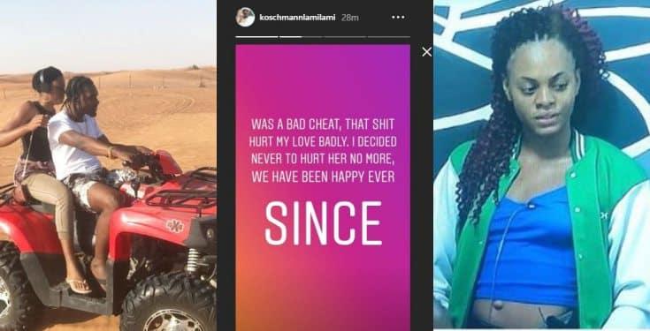 BBNaija 'My babe is not knacking' - Jackye's boyfriend celebrates