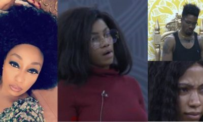 BBNaija: Rita Dominic reacts as Biggie punishes housemates