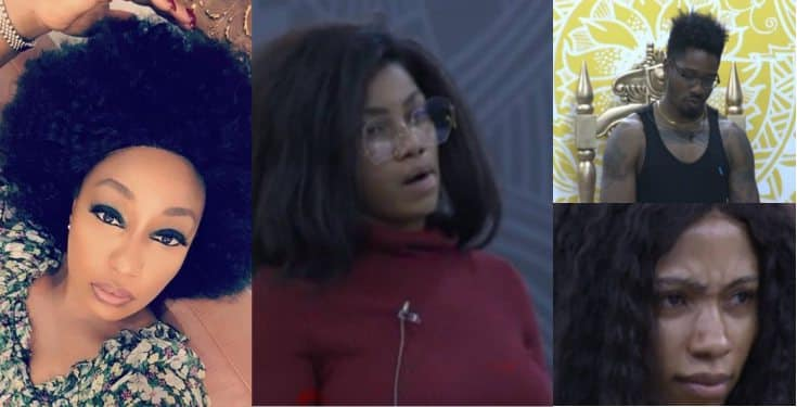 BBNaija: Rita Dominic reacts as Biggie punishes housemates