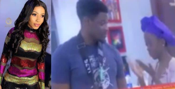 BBNaija: Twitter users react as Seyi says he  will never speak to Mercy again (video)