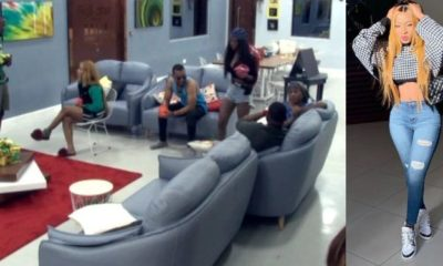 "BBNaija: ""You are real. You don't carry grudges"" - Omashola tells Mercy"
