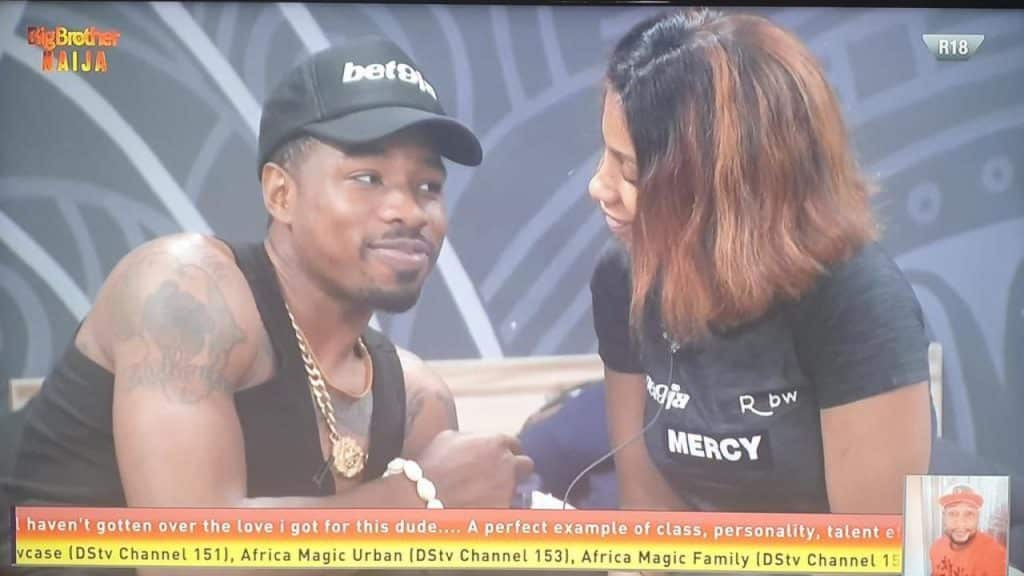 What I'll do to any male housemate who makes move at Mercy – Ike