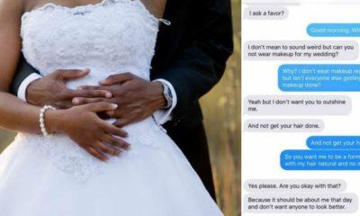 Bride Begs Best Friend To 'Look Ugly' On Her Wedding (Screenshot)