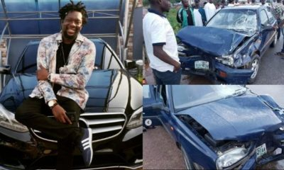 Comedian Klint Da Drunk survives ghastly car accident (photos)
