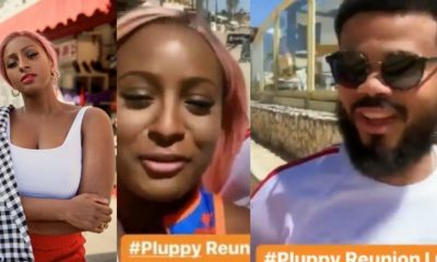 DJ Cuppy reunites with her ex-boyfriend Asa Asika in Portugal (Video)