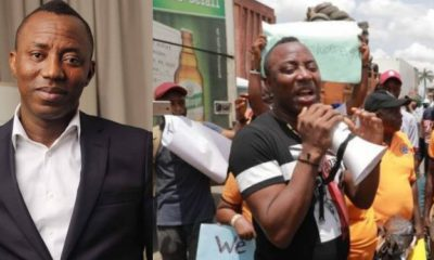 DSS Reportedly AAC presidential candidate, Omoyele Sowore