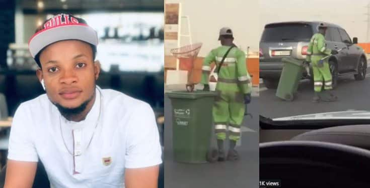 Dancing Nigerian cleaner becomes a viral sensation in Abu Dhabi (video)