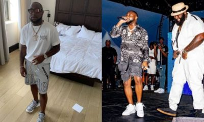 Davido reveals how Spesh hooked him up with D'banj