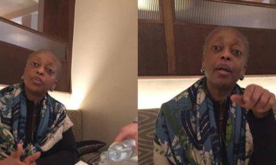 Diezani Alison-Madueke cries out as she denies stealing Nigeria's money