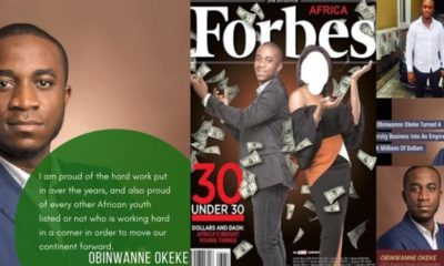 FBI arrests Forbes' celebrated Nigerian billionaire, Obinwanne Okeke