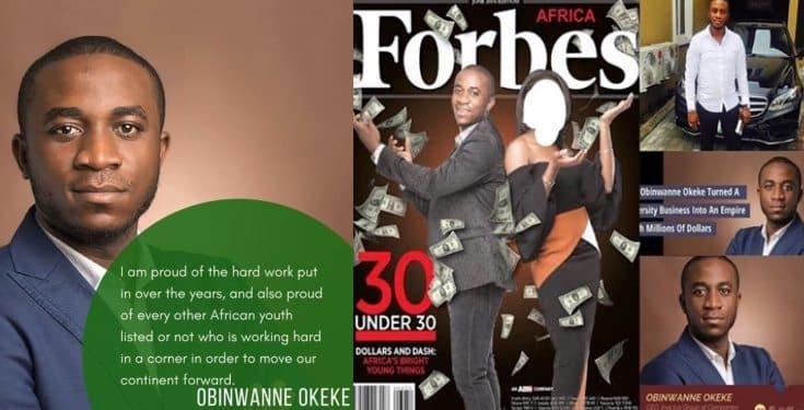 FBI arrests Forbes' celebrated Nigerian billionaire, Obinwanne Okeke