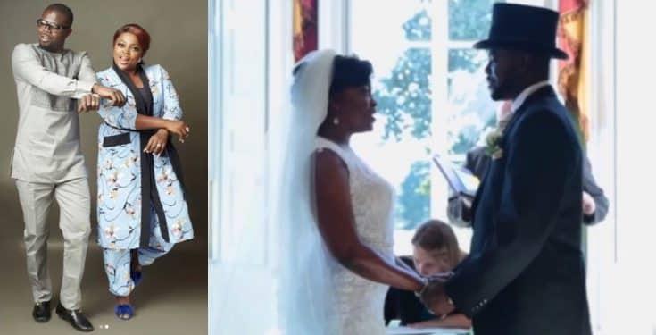 Funke Akindele and husband JJC Skillz celebrate their wedding anniversary