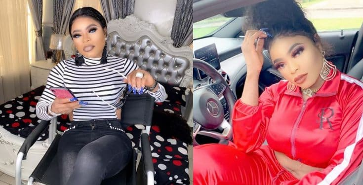 'I didn't turn shemale because of broke boys' - Bobrisky