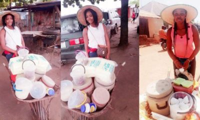 I make more than salary earners - Lady who sells food using wheelbarrow