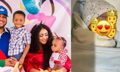 Juliet Ibrahim's ex-husband welcomes third child with wife (photos)