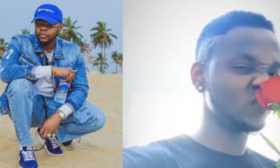 Kizz Daniel mocks Nigerian women who copy foreigners by sniffing flowers (video)
