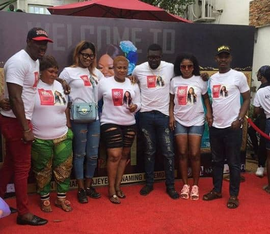 Lovely photos from Toyin Abraham's 3-in-1 naming ceremony in Lagos