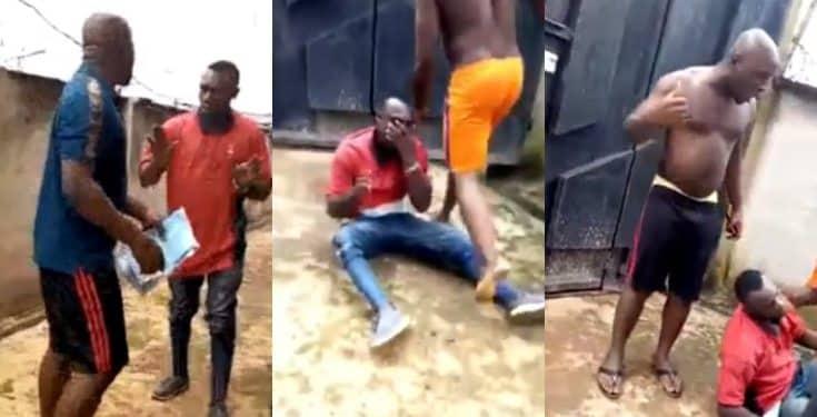 Man assaults EEDC staff after being served an outrageous bill (video)