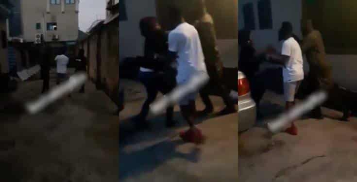 Man storms his ex-wife's house to retrieve the car he bought her (video)