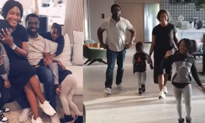 Mercy Johnson's daughter says the actress wants a car as birthday gift (video)