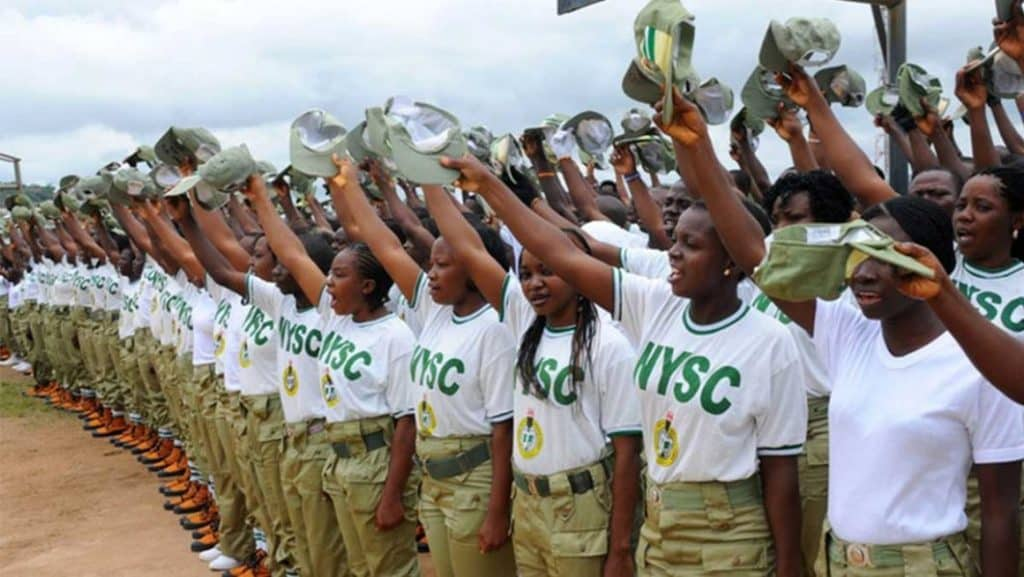 Muslim Corper Converts NYSC Trouser To Skirt