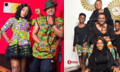 Nollywood actor Walter Anga and wife celebrate 10th wedding anniversary
