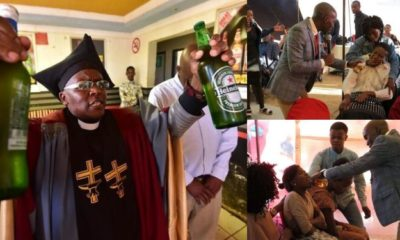Pastor defends colleague who gave congregants beer during holy communion
