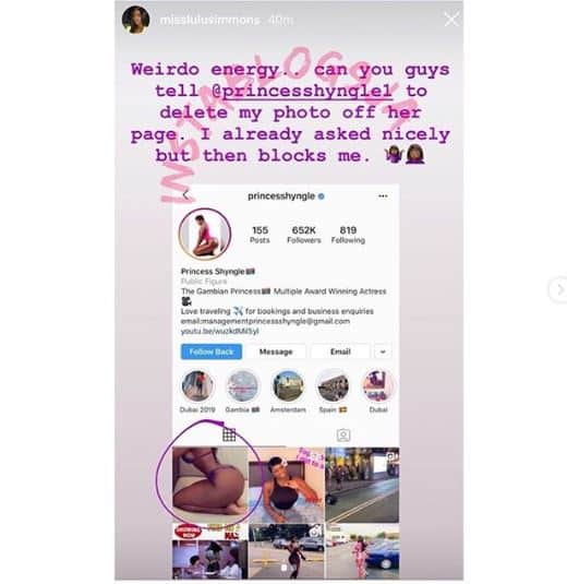 Princess Shyngle called out for 'Stealing' the body of an American model