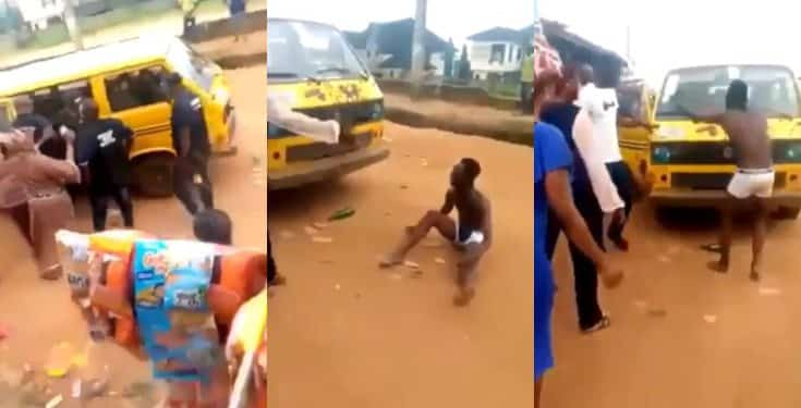 SARS officers stopped from arresting man they accused of fraud (video)