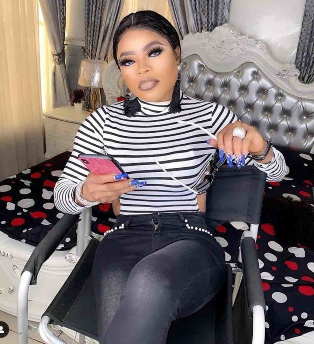 Tonto Dikeh's Son Gifts Phones, Bags Of Rice To Celebrate Bobrisky's Birthday