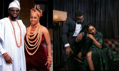 Tee-Y Mix's wife, Ivie praises him hours after their wedding