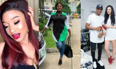 Tonto Dikeh, Yvonne Jegede react to IK Ogbonna & Sonia' marriage crash