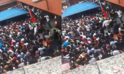 University of Calabar staff seen flogging Post-UTME candidates (video)