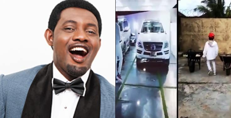 AY Vows To Bless Ikorodu Bois After Watching His Mimic Video