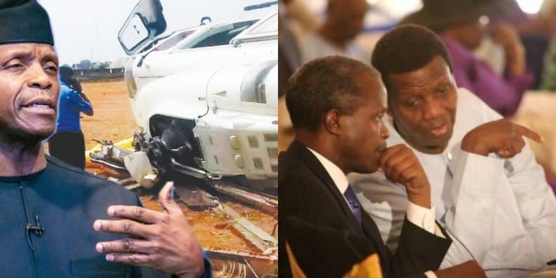"What God told me about Osinbajo helicopter crash"" – Pastor"