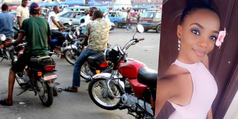 Lady shares her interesting encounter with an okada man