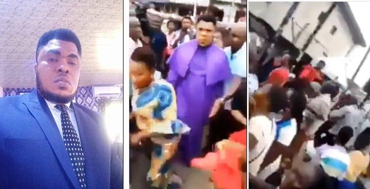 Prophet Melody Adjija gets heroic welcome by members in Warri