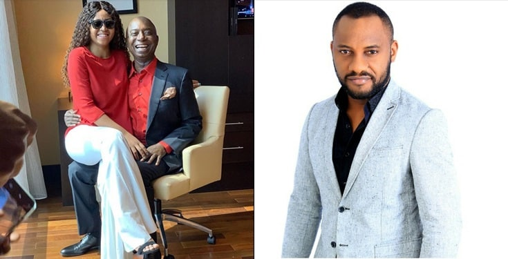 Yul Edochie receives curses from IG users after he blessed Regina Daniels' marriage