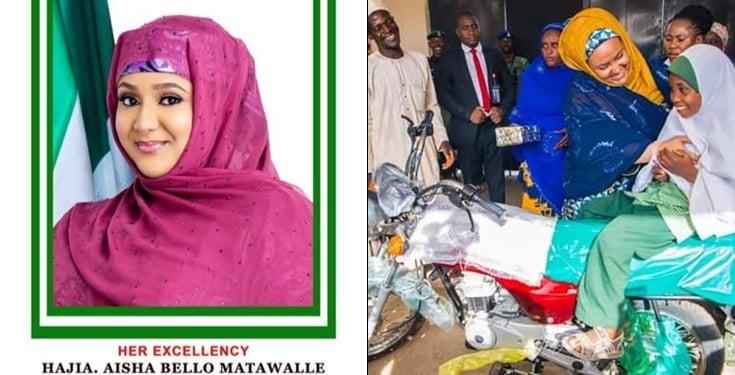 Governor's Wife Buys Motorcycle For Zealous 8 years Old Girl