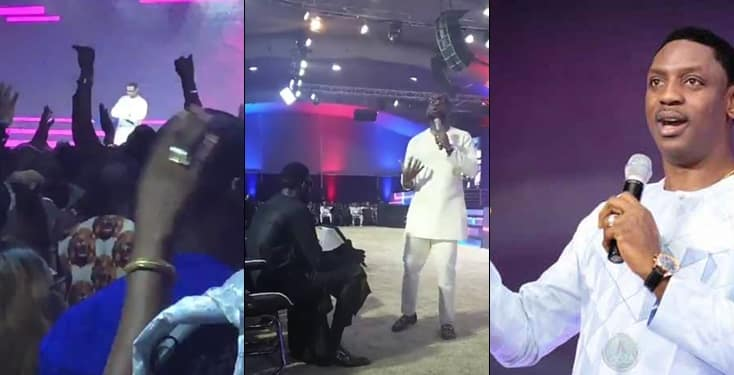 """Biodun Fatoyinbo returns to the pulpit to preach about """"sudden victories"""""""