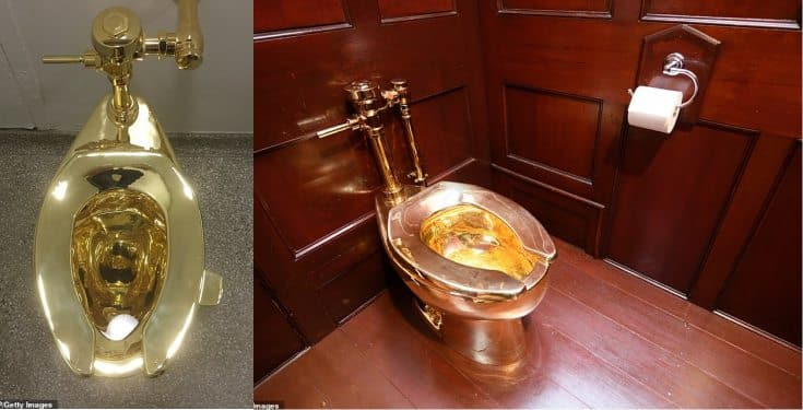 £5 milion Gold toilet stolen from Britain's Blenheim Palace