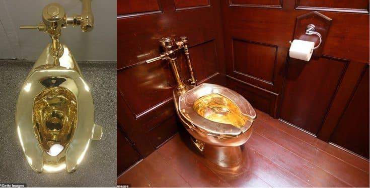 £5 milion Gold toilet stolen from Britain's Blenheim Palace