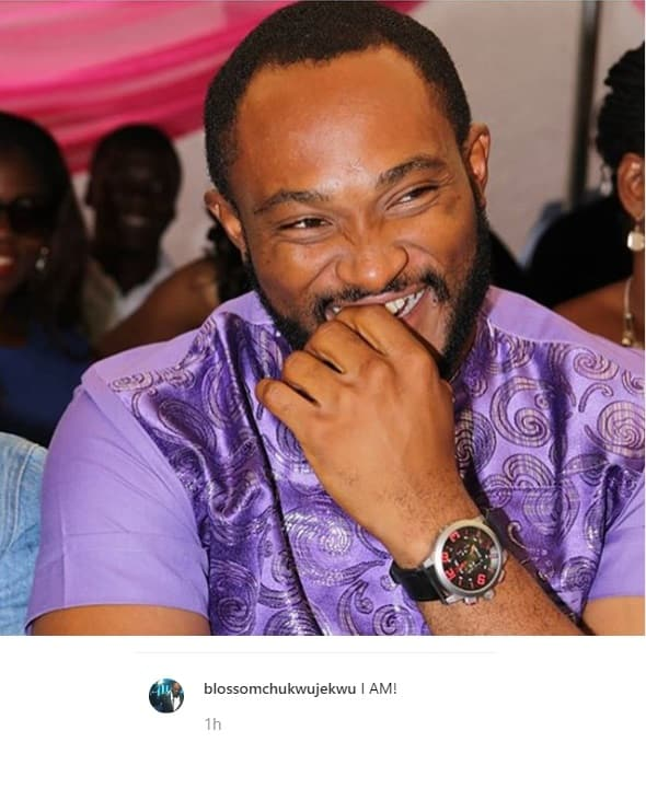 Actor Blossom Chukwujekwu reacts to report of his marriage crash