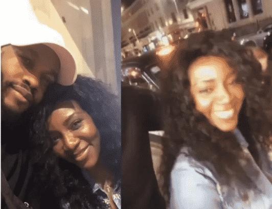 Actress Genevieve Nnaji and Lynxxx now dating? (Photos)