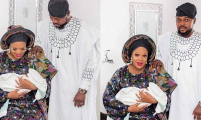 Actress Toyin Abraham unveils new family portraits (photos)